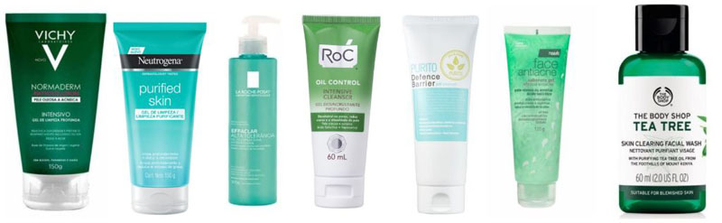 Melhores produtos para pele oleosa